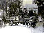 Langhammer LKW in der Reichsstraße
