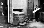 Die Eisfabrik, in der Stangeneis für die Gastronomie hergestellt wurde