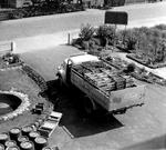 Auslieferung der Fässer in den 50ern