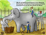 """App """"Im Zoo"""": Elefanten sind natürlich auch dabei."""