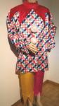 Clown / Harlekin, Gr.XL, Fr.29.-