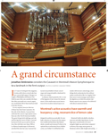 """Choir & Organ, May/June 2015 """"A Grand Circumstance"""" featuring the Montreal's Maison Symphonique Organ"""