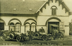 Anonyme château d'Irchonwelz 1917 CPA allemande
