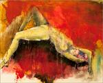 PACHA, huile de 16 x20, Vendu