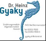 Ordination Dr. Heinz Gyaky