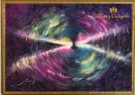 エッグ星雲(¥600,000 税抜き)額付き アートサイズ(1009mm×709mm) レンタルアート可(Eサイズ)