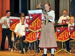 Swiss-Melodies, interpretiert von Sandra mit dem Es-Horn