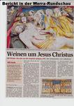 Werra-Rundschau-Artikel über den Lüderbacher Flügelaltar. Den finden Sie in unserer Wehrkirche direkt am P21 Point India.