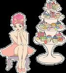 BadeFee Badecupcakes Badedonuts kaufen bei Smillas Butik
