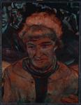 Hermine Ryan-Braunsteiner, Angeklagte ca. 70 x 90 cm