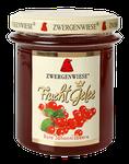 Bio rote Johannisbeergelee - als Aufstrich, als Nachtisch zu Pudding, in Eiscreme, für Biskuit und andere kleine Sünden