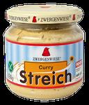 Veganer Bio Brotaufstrich aus Sonnenblumenkernen mit Curry - pur auf Brot oder mit Joghurt vermischt als Dip oder Dressing