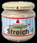 Veganer Bio Brotaufstrich aus Sonnenblumenkernen mit Pfeffer - pur auf Brot oder mit Joghurt vermischt als Dip oder Dressing.