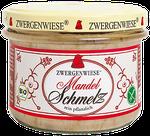 Veganer Bio Brotaufstrich mit Mandeln - als Aufstrich, lecker auf kräftigem Schwarz- oder Graubrot