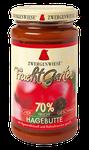 Bio Fruchtaufstrich Hagebutte - Frucht-Aufstrich, auch ideal als Nachtisch zu Grießpudding, Eiscreme oder Kuchenfüllung geeignet