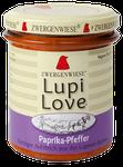 Veganer Bio Brotaufstrich aus Lupinen  mit Paprika und Pfeffer - als Aufstrich, auch ideal zum Kochen geeignet
