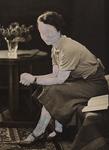 animus#1, alte Fotografie & Acryl, 11x15 cm, 2014
