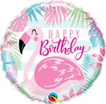 "Birthday Pink Flamingo 18"" - € 5,90"