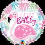 "Birthday Pink Flamingo 18"" - € 5,90"