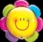 """Flower Smiley Face 35"""" - € 12,90"""