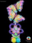 Deko To Go: Butterflies & Flowers ca. 1,80m - € 49,90