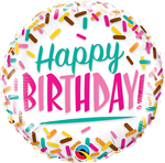"Birthday Sprinkles 18"" - € 5,90"