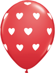 "Latexballon ""Big Hearts"" rot, 35cm  -  € 1,80"