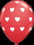"Latexballon ""Big Hearts"" rot, 35cm  -  € 1,80"