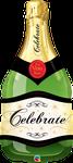 """Celebrate Bubbly Wine Bottle 39"""" - € 12,90"""