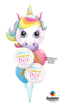 Balloon-Bouquet: Unicorn Magical Day ca. 1,80m - € 35,90