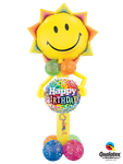 Deko to Go: Smiley Sunshine Guy & Message ca. 1,70m - € 39,90