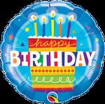 "Birthday Cake Blue 18"" - € 5,90"