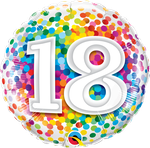"18 Rainbow Confetti 18"" - € 5,90"