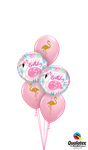 Balloon-Bouquet: Pink Flamingo Birthday ca. 1,80m - € 22,90