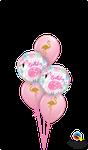 Balloon-Bouquet: Pink Flamingo Birthday ca. 1,80m - € 22,90