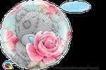 "Teddy Birthday Roses 18"" - € 5,90"
