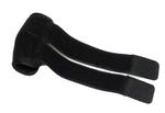 thermoplastisch anpassbare Bandage mit dehnbarem Klettverschluss