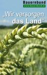 Schild Rednerpult - Agrarischer Herbstauftakt, Rieder Messe
