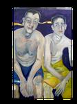 Sohn  mit gelben Handtuch (80 x120)