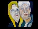 Ehepaar II (90 x90)