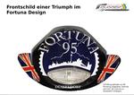Der Grobentwurf Fortuna und UK Flagge