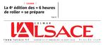 15/08/2015 - L'Alsace - Une du journal