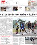 24/08/2015 - L'Alsace - Une du Livret Régional