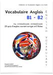 Le livre de poche Le Vocabulaire Anglais Courant B1 PRE-intermédiaire - B2 Intermédiaire