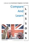 TOUTE LA Grammaire anglaise en tableaux comparatifs