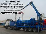 JPM TRANS TP Prestation de pressage 0670770298