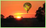 Vol de nuit avec lever du soleil (Yonne - Bourgogne)