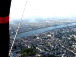 Survol de Blois (Loire et Cher)