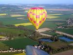 Environs de Gisy-les-Nobles (Yonne - Bourgogne) vus d'un motoplaneur