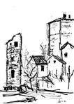 Cardaillac, vieille tour et donjon